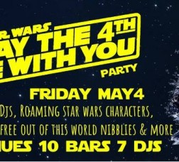 May the 4th Be with you Star Wars Party!