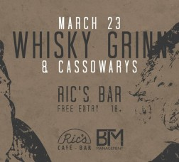 Whisky Grinn // The Cassowarys