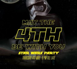 May The 4th Be With You (Star Wars Party)